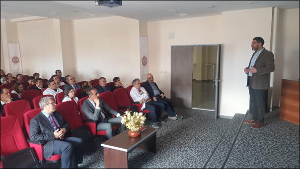 Ders Bilgi Sistemi (DBS) yaygınlaştırma projesi kapsamında Veterinerlik Fakültesi öğretim üyelerine tanıtım faaliyeti düzenlendi
