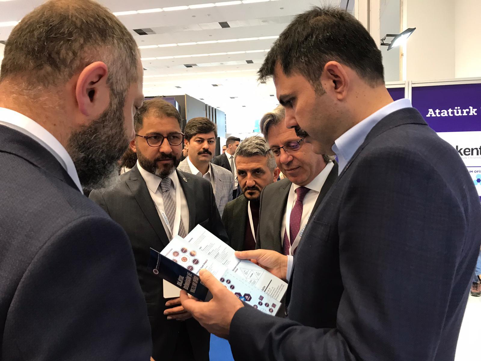 Dijital Dönüşüm ve Yazılım Ofisi Ankarada Düzenlenen Verimlilik ve Teknoloji Fuarında Üniversitemizi Temsil Etti
